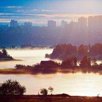 Утро у Ангары :: Алексей Белик