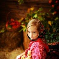 Детская осенняя фотосессия в студии :: Oksanka Kraft