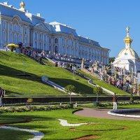 Большой дворец с каскадом :: Valerii Ivanov