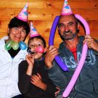Три веселых клоуна. :: Александр Борисович Панченко
