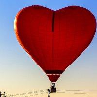 Сердечный полет вдоль линий электроснабжения :: Николай Николенко