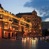 Ночное Баку :: Алла ZALLA