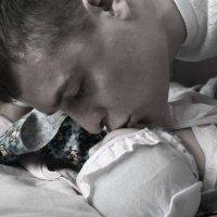 Папа и дочь :: Виктория Большагина