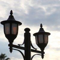 Вечерний фонарь :: Артем Бардюжа