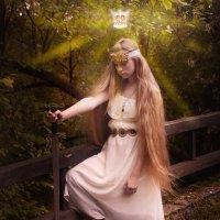 Девушка с мечом. :: Валерий Стогов