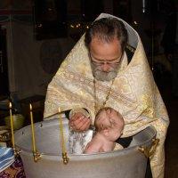 Таинство. Крещение Анастасии. :: Татьяна