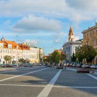 Ратушная площадь Вильнюса. :: Инта