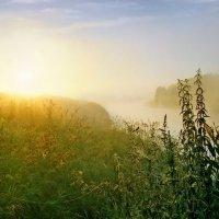 Рассвет на Вологде - реке :: Валерий Талашов