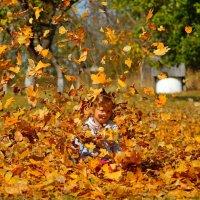 Хочешь фото в листьях ??? Получи !! :: Алексей Ревук