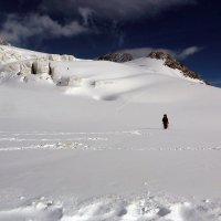 На леднике Менсу :: Михаил Баевский