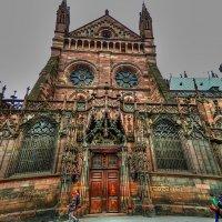 Страсбургский собор (фрагмент) :: Александр Корчемный
