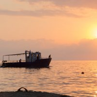 Летний вечер на море :: Ольга Савотина