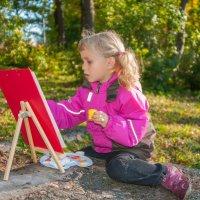 маленькая художница :: Злата Красовская