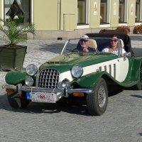 Ретро автомобиль Panther Lima MK1 Roadster :: Евгений Кривошеев