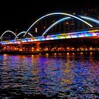 Красочный мост :: Сергей Бородулин