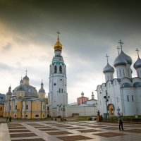 Вологодские мотивы - кремль :: Александр Беляков