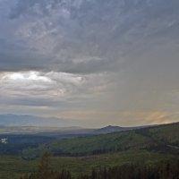 The Storm in Mountains :: Roman Ilnytskyi