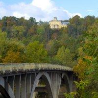 Латвия.Сигулда.Мост через Гаую :: TolyboG (Анатолий) Богаченко