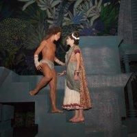 Маугли и Ананда :: Ольга Скороходова