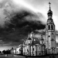 Вологодские мотивы - панорама Кремля :: Александр Беляков