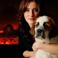 С любимым псом :: Иван Лазаренко