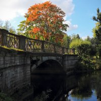 Мост через Кузьминку :: Михаил Лесин