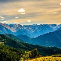 Когда засыпают горы... :: Дмитрий Марков
