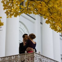 Двое на балконе. :: Александр Лейкум