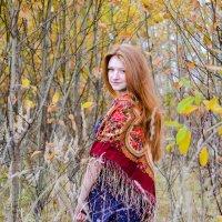 девушка-осень :: Анастасия Трапкова