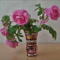 Розы чайные... :: Нина Корешкова