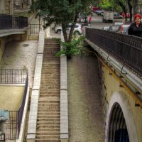 лестница и мосты :: Александр Корчемный