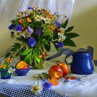 Разбросало лето свои краски... :: Валентина Колова
