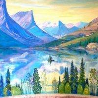 Горное озеро :: Александр Петров