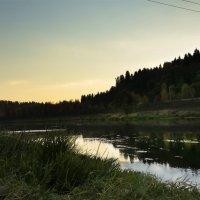 Закат на Москве-реке :: Лариса Батурова