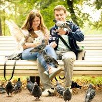 Юлия Ильина - Влюбленные в парке