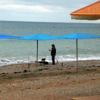 Пляжная рыбалка :: Ирина Фирсова