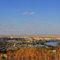 Пейзаж с видом на город.... :: galina tihonova