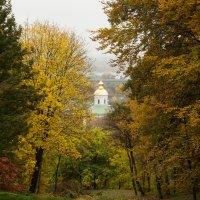 Осень и Выдубицкий монастырь :: Андрей Нибылица
