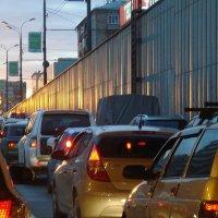 Дороги Москвы из окна автомобиля :: Галина