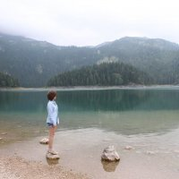 Чёрное озеро :: Ирина Wonderland