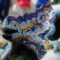 Мозаичная саламандра :: Larisa Ulanova