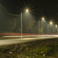 улица под одеялом ночи =) :: Александр Абакумов