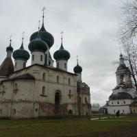 Собор Богоявления   и Храм  Николая  Чудотворца. :: Galina Leskova