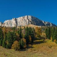 Хребет Каменное море,скала Нагой-Кош (2100м) :: anatoly Gaponenko