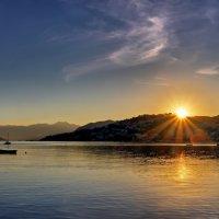 Восход солнца :: Юрий Кольцов