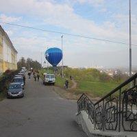 Легкий как фонарик в траве воздушный шарик :: Галина