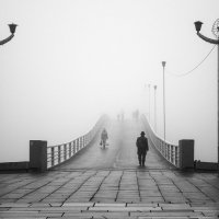 провожая в утренний туман :: Виталий Исаев
