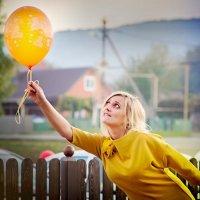 На большом воздушном шаре.... :: Сергей Романюк