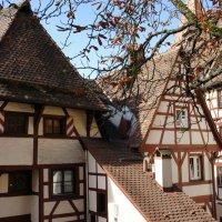 Самый старый фахверковый дом Нюрнберга, 1338 г. :: Елена Смолова