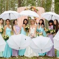 Свадьба в зонтиках :: Павел Ребрук